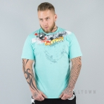 Mafia & Crime Full Contact Sports Shirt Azure