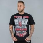 Mafia & Crime Your God Shirt Black