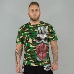 Mafia & Crime Mc Bandana Shirt Camo