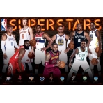 NBA Poster NBA - Superstars