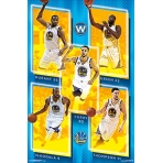 NBA Poster Golden State Wariors team