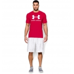 Under Armour Sportstyle Logo Graphic T-Shirt Red