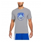 Under Armour Basketball Logo Basketball Graphic T-Shirt Grey