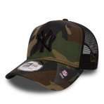 New Era Šiltovka Mlb New Era 940 Camo Team Aframe Trucker New York Yankees