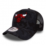 New Era Šiltovka Nba New Era 940 Camo Team Aframe Trucker Chicago Bulls