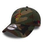 New Era Šiltovka Nba New Era 940 Camo Team Cleveland Cavaliers