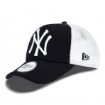 New Era Šiltovka Mlb New Era Trucker Clean Trucker New York Yankees Black/White