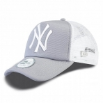 New Era Šiltovka Mlb New Era Trucker Clean Trucker New York Yankees Gray/White