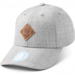 State Of Wow Šiltovka Off Spring Baseball Cap Lt Grey Mel