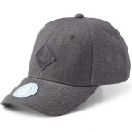 State Of Wow Šiltovka Off Spring Baseball Cap Dk Grey Mel Black