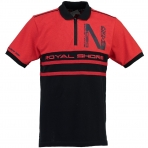 GEOGRAPHICAL NORWAY KAILS POLOSHIRT RED / NAVY