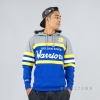 MITCHELL & NESS NBA HEAD COACH HOODY GOLDEN STATE WARRIORS GREY/ROYAL