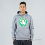 Mitchell & Ness Distressed Hwc Team Logo Hoody Boston Celtics Grey