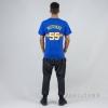 MITCHELL & NESS NBA TRADITIONAL TEE DENVER NUGGETS / DIKEMBE MUTOMBO No. 55 ROYAL