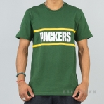 New Era NFL Tričko F O R 90S Fan Tee Green Bay Packers - Green