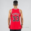 MITCHELL & NESS NBA AUTHENTIC JERSEY CHICAGO BULLS 1997-98 / SCOTTIE PIPPEN No. 33 RED/BLACK