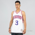 MITCHELL & NESS NBA AUTHENTIC JERSEY PHILADELPHIA 76ERS 2001-02 / ALLEN IVERSON WHITE