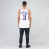 MITCHELL & NESS NBA AUTHENTIC JERSEY PHILADELPHIA 76ERS 2001-02 / ALLEN IVERSON WHITE