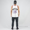MITCHELL & NESS NBA SWINGMAN JERSEYS TORONTO RAPTORS 1998-99 / VINCE CARTER No. 15 WHITE/BLACK