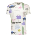 Shine Originals Aop tee S/S 2-45679 White