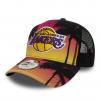 New Era Šiltovka 940 NBA Af Trucker Coastal Heat Trck Los Angeles Lakers