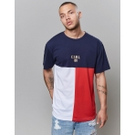 Cayler & Sons Black Label 100 Tee Navy/Red