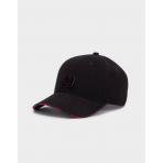 Cayler & Sons Black Label Constrictor Curved Cap Black/Red