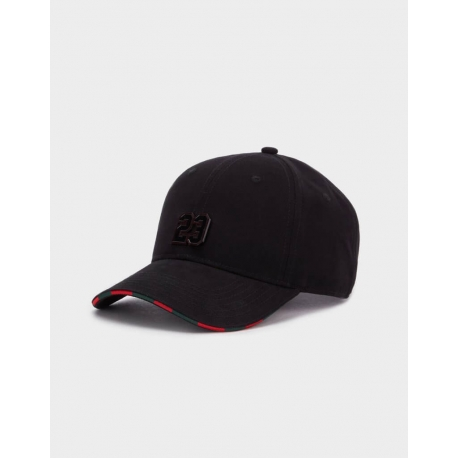 Cayler & Sons Black Label Constrictor Curved Cap Black/Red
