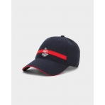 Cayler & Sons White Label Trust Curved Cap Navy/Red