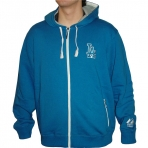 Majestic Woodlawn Zip Through Hooded Sweat