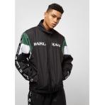 Karl Kani Retro Trackjacket black/white/green