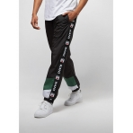 Karl Kani Retro Trackpants black/white/green