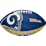 WILSON NFL JR TEAM LOGO FB LA