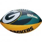 WILSON NFL JR TEAM LOGO FB GB