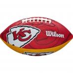 WILSON NFL JR TEAM LOGO FB KC