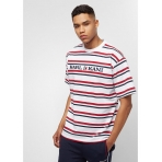 Karl Kani Stripes Tee navy/red/white