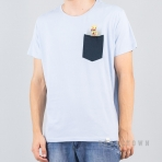 Shine Original Raglan Tee Monroe - Ghost Blue