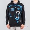 Majestic Bater Loopback Oth Hood Carolina Panthers Black