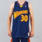 MITCHELL & NESS NBA SWINGMAN JERSEYS GOLDEN STATE WARRIORS 2009-10 / STEPHEN CURRY Nr. 30 NAVY/RED