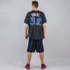 MITCHELL & NESS NBA NAME/NUMBER MESH CREWNECK ORLANDO MAGIC / SHAQUILLE O'NEAL BLACK/WHITE