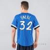 Mitchell & Ness NBA Name/Number Mesh V-Neck Orlando Magic / Shaquille O'Neal Royal/White