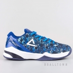 PEAK Basketball Shoes Navy/White (EW7201A)