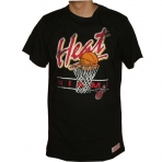 Mitchell & Ness NBA Miami Heat Net Tee