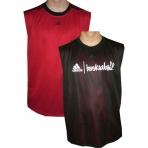 ADIDAS Tank Top Street Red&Black reversible jersey
