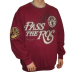 PASS THE ROC SWEAT SHIRT BURGUNDY