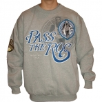 PASS THE ROC SWEAT SHIRT GREY