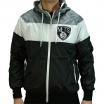 MITCHELL & NESS BROOKLYN NETS WINDBREAKER JACKET