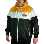MITCHELL & NESS LA LAKERS WINDBREAKER JACKET