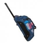 NBA HOOP taška s kolieskami - modrá