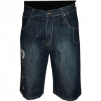 SOUTH POLE denim short dark blue
